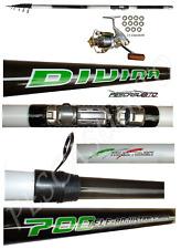 Kit Canna Teleregolabile 6m Carbonio Divina + Mulinello Xc Trota Pesca