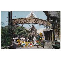 Disney Unused Postcard Adventureland Entrance B11 circa 1950s Disneyland
