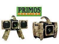 PRIMOS ALPHA DOGG ELECTRONIC PREDATOR CALL WITH REMOTE 3756 *** BRAND NEW ***