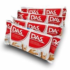 Das Modelling Putty by Fila - Air Drying Easy Mould Clay - Multipack of 4 x 150g