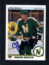 1990 Upper Deck #126 Brian Bellows Signed Auto Autographed Card Jc Loa *614437