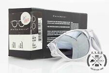 Oakley FrogSkin Matte Clear Black Iridium vintage occhiali da sole rarissimi