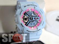 Casio G-Shock S Series Rose Motif Band Ladies Watch GMA-S110F-2