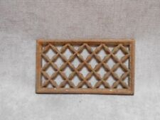 1940s French Vintage iron HEATING GRATE VENT PLAQUE