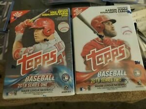 Topps Baseball 2018 Series 1 And 2 Blasters Boxes