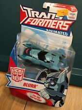 Transformers Animated Blurr 2008 New Complete MIP Rare