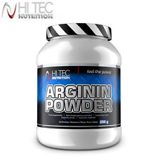 ARGININ POWDER 250 g L-Arginine Muscle Pump Growth & Better Sexlife Supplement