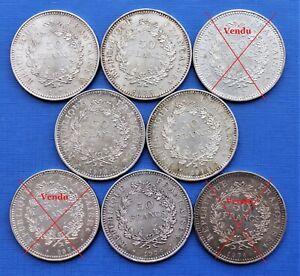 50 Francs Hercule (Argent) - Millésimes variés