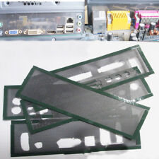 2x I/O Shield Without Any Opening Blank Backplate Baffle For All Motherboard DIY