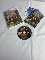 Nintendo Donkey Kong Country Returns Nintendo Wii - Complete w/ Manual - Tested