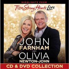 JOHN FARNHAM & OLIVIA NEWTON-JOHN Two Strong Hearts Deluxe Edition CD/DVD NEW