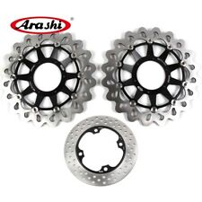For HONDA CBR1000RR 2008 - 2015 2009 2010 2011 Brake System Front Rear Rotors
