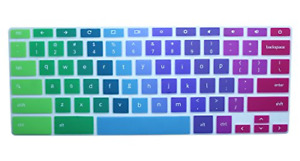 Rainbow Colorful Keyboard Cover for 2020-2017 For Samsung Chromebook 11.6 inch