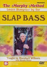 The Murphy Method- Learn Bluegrass By Ear Slap Bass- Method Dvd/ New!