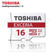 Toshiba 16GB Exceria micro SD HC Card UHS-I microSD TF Card Class 10 U1 48mb/s