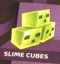 New SLIME CUBES- MINECRAFT Obsidian Series 4 Mini-Figure Single Pack