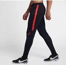 Nike Flex Strike Soccer Pants Colorburst Practice Drill Black Red 902586 Medium