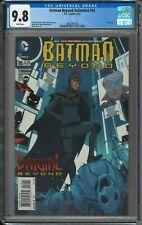 Batman Beyond Unlimited #18 - CGC 9.8 - Last Issue