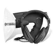 vidaXL Richtmikrofon Geräuschverstärker Abhörgerät+Zieloptik mit 8 Sek.Aufnahme