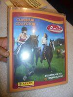 Ancien Album Panini Mission Equitation On Line : Chevaux Classeur Collector 2008