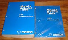 Original 2005 Mazda B-Series Truck Shop Service Manual + Wiring Diagram Set 05