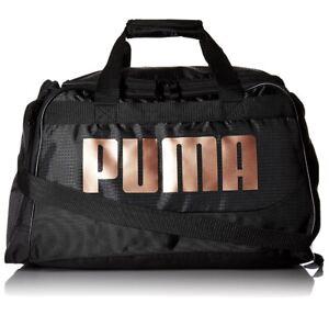 PUMA Evercat Dispatch Womens Duffel Black And Bronze  Gym Bag