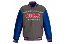 Chicago Cubs 2016 World Series Champions Commemorative Wool Jacket Reversible