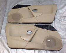 Pair of 1999-2000 Mazda Miata Door Panels, Parchment