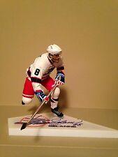 Mcfarlane Nhl Teemu Selanne (One)Autographed Signed Winnipeg Jets, Ducks figure.