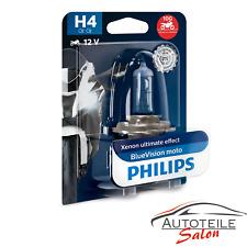 Philips H4 BlueVision Moto 12342 Xenon look 12V 55W Halogen +30% Motorrad
