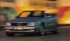 MERCEDES AMG C43 W202 E55 W210 SL60 R129 Sportscar Prospekt Brochure 1997 92