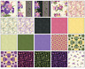 "Irresistible Iris Jelly Roll (40) 2.5"" STRIPS 100% Cotton Quilting Fabric PRECUT"