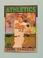 2021 TOPPS SERIES 1 JOSE CANSECO 35th Anniversary Chrome #86BC-2 Oakland A's
