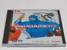 The Ninja Warriors Ninjawarriors PC Engine HuCard GT Duo-RX LT Brand NEW Sealed