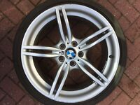 "BMW Z4 E89 18"" STYLE 326M 19"" REAR RONAL ALLOY WHEEL & RFT TYRE 7842136 9Jx18"