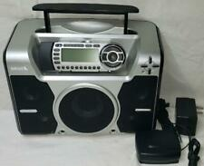 Sirius Starmate Satellite Portable Radio Boombox ST-B2 & Lifetime Subscription