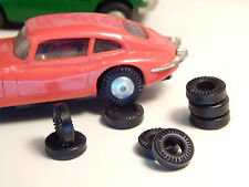8 urethane tyres for Ho slotcar Minic AUS
