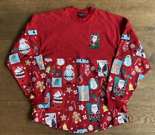 More details for new! christmas long sleeve top jumper spirit jersey - size medium/ large