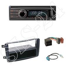 Caliber RMD212 Radio + Mercedes C-Kl. 1-DIN Blende+Fach schwarz + ISO Adapter