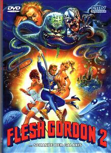 Flesh Gordon 1 & 2 , limited small Hardbox - Double Feature , uncut , NEW , B