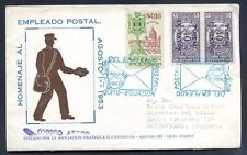 ECUADOR to URUGUAY cover FDC circulated Nice