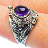 Amethyst 925 Sterling Silver Ring Size 9 Ana Co Jewelry R35786F