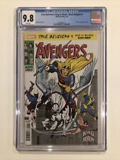 True Believers: King in Black - Black Knight #1 CGC 9.8 - Avengers #48