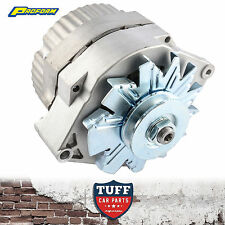 283 307 327 350 Chev V8 Proform Alternator 100 Amp Internal Regulator Raw Finish