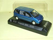 PEUGEOT 806 Bleu 1995 SOLIDO