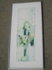 Gwendolyn Graine Modernist Abstract Paper Collage on Acrylic Torpedo Factory Va