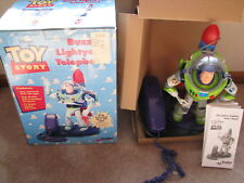 RARE 1996 Toy Story Buzz Lightyear Telephone in BOX
