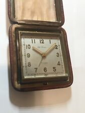 SETH THOMAS 8 Days Alarm 15J Swiss Car Watch vintage collectible