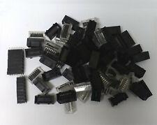 60 x 74 TTL Logic Chip ICs Components - NEW RS - JOB LOT & IC Sockets