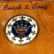 Antique Busch & Sons VMC 1105 Royal Arcanum Fraternity Enamel Lapel BUTTON DP209